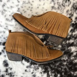 Maurices Fringe Bootie